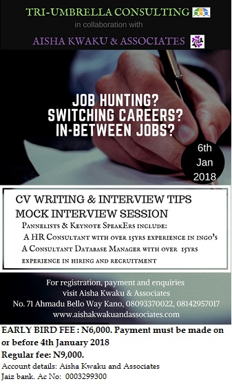 Copy of Copy of CV WRITING AND INTERVIEW TIP